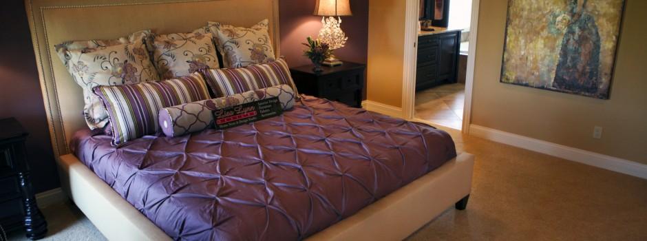 Upholstered Master Bed