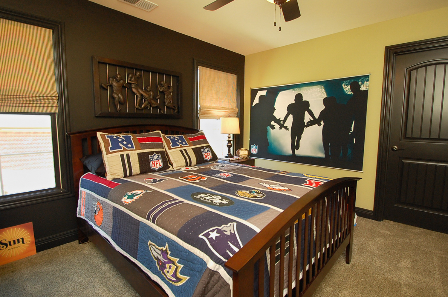 NFL Bedroom LLDS Home Store & Design Studio