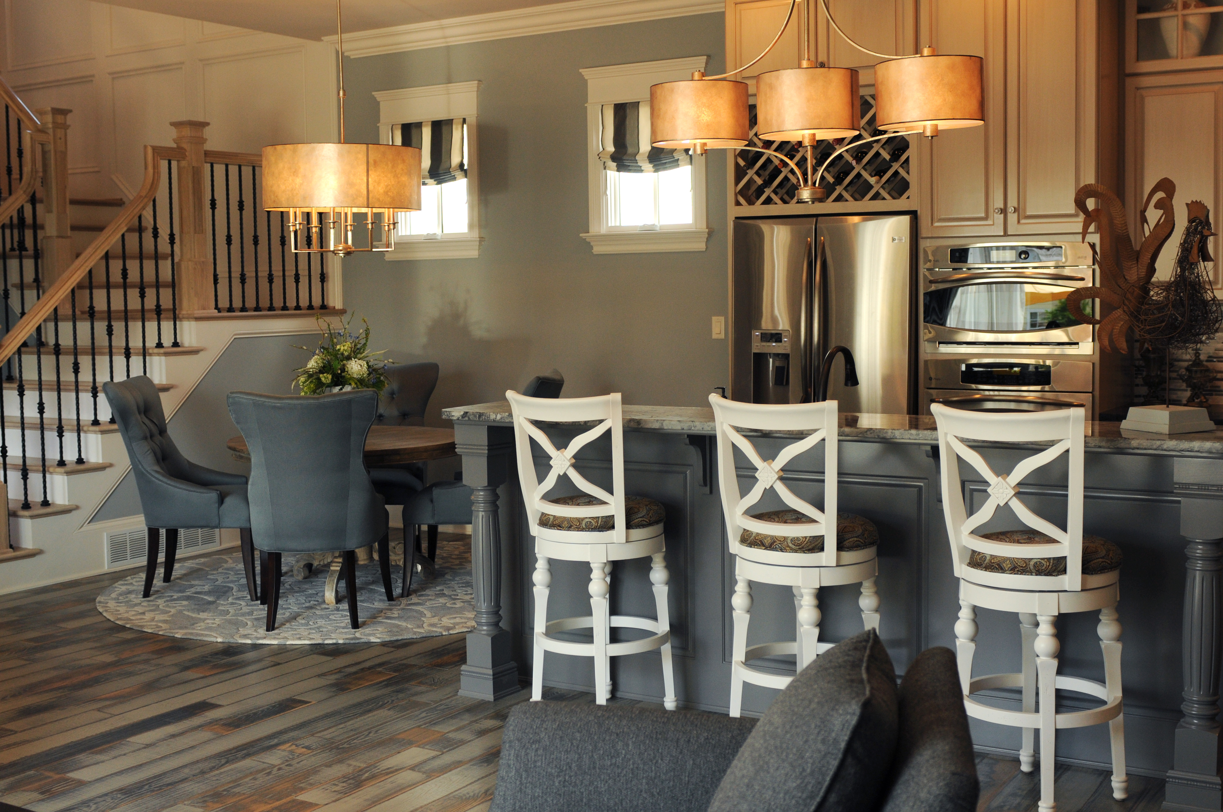 Hearth room and kitchen llds home store design studio for House plans with hearth rooms